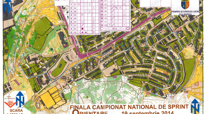 Camp. Nat. Sprint, MD, LD + Cupa Cluj-West Open 19.09.2014 – Cluj