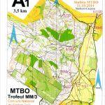 Concurs National Stafeta MTBO 2x2 - Bucla 1 - 11.10.2014 - Maramures