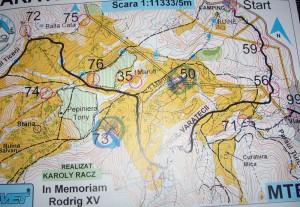 Campionatul Judetean de Orientare cu Mountain Bike